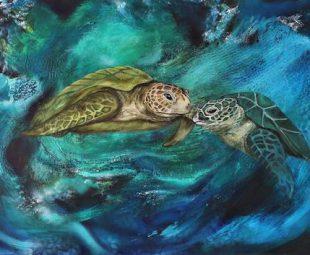 Liebe unter Wasser